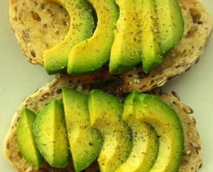 Avocado, Bread