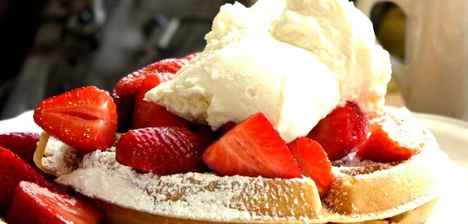 Strawberry, Waffle