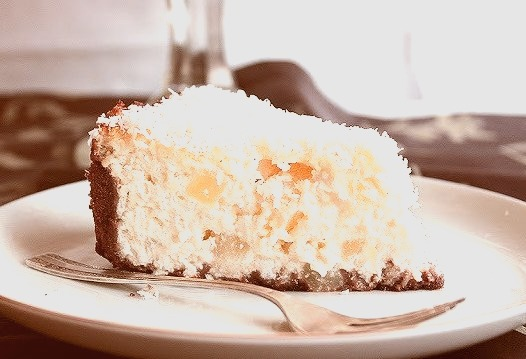 Coconut & Pineapple Cheesecake