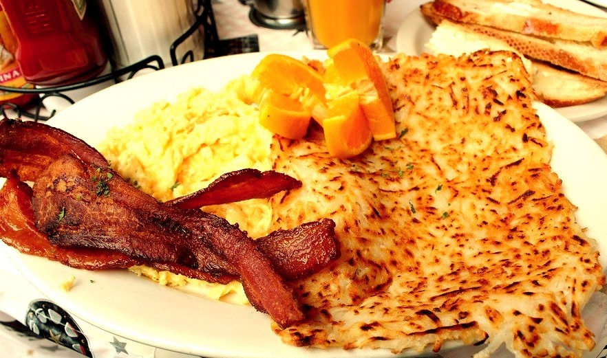 Bacon, Eggs & Hashbrowns