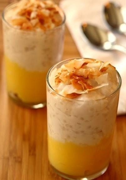 coconut lemon tapioca
