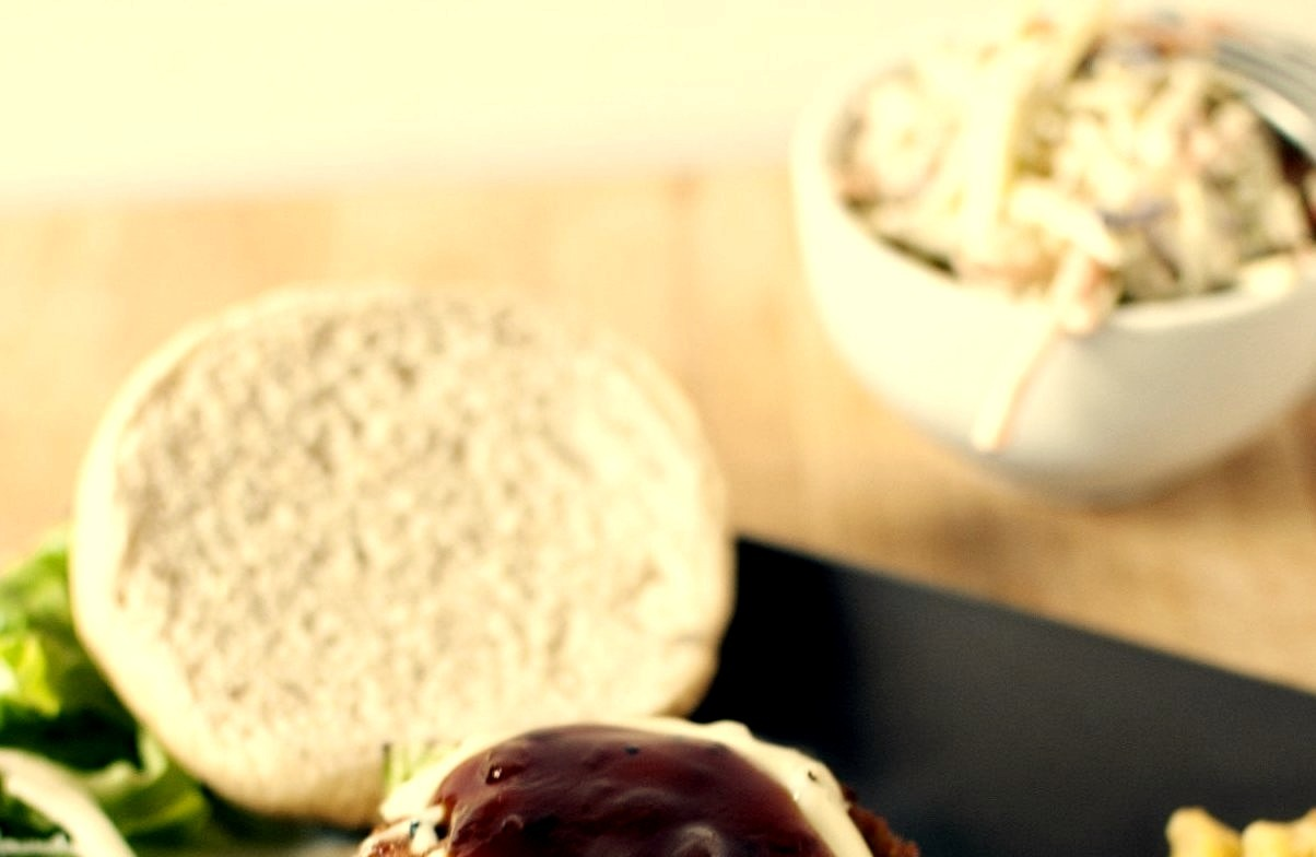 Barbeque Chicken Burgers