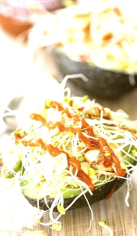 Thai Stuffed Avocados (x) By