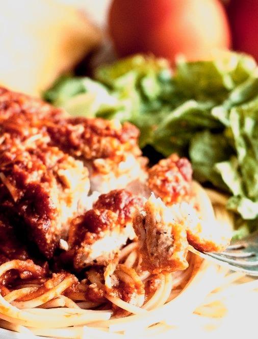 Recipe: Slow Cooker Chicken Parmesan