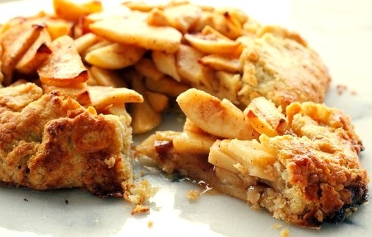 Brown Sugar Apple Crostata