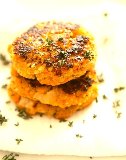 Sweet Potato Quinoa Patties