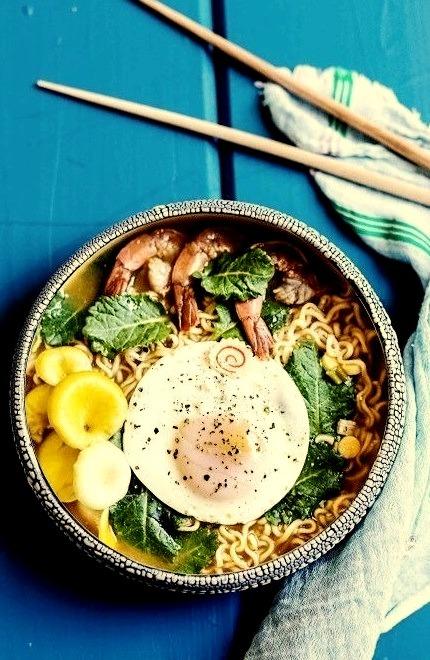 Super Easy Ramen Noodle SoupSource